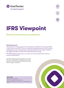 IFRS viewpoint 4 front cover