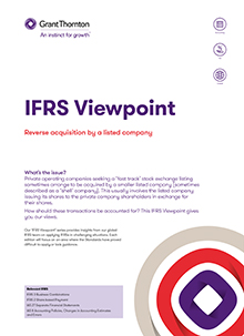 IFRS viewpoint 6 front cover