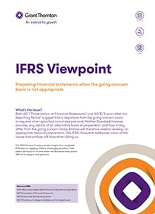 IFRS viewpoint 7 front cover