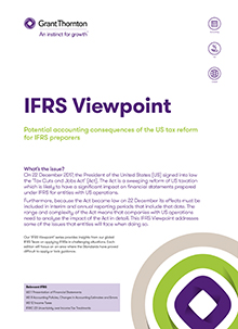 IFRS viewpoint 8 front cover