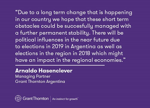 Quote from Arnaldo Hasenclever, Managing Partner, Grant Thornton Argentina