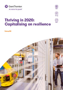 Thriving in 2020 report cover
