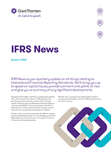 IFRS News Q1 2018 cover image