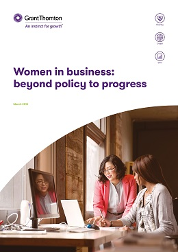 Women in business 2018 cover image