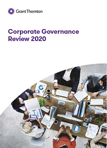 UK Corporate Governance review 2020 cover