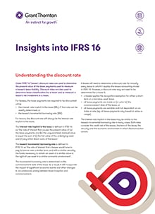 IFRS 16 - Understanding the discount cover image
